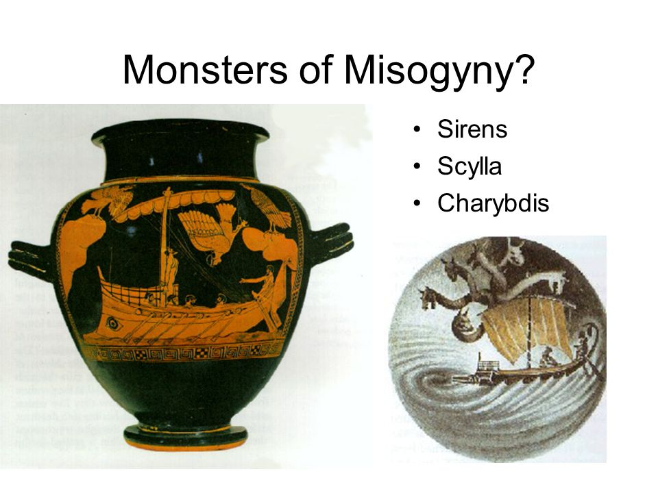 Monsters of Misogyny Sirens Scylla Charybdis
