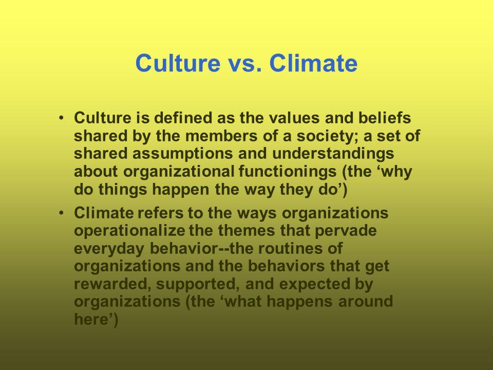 Culture vs.