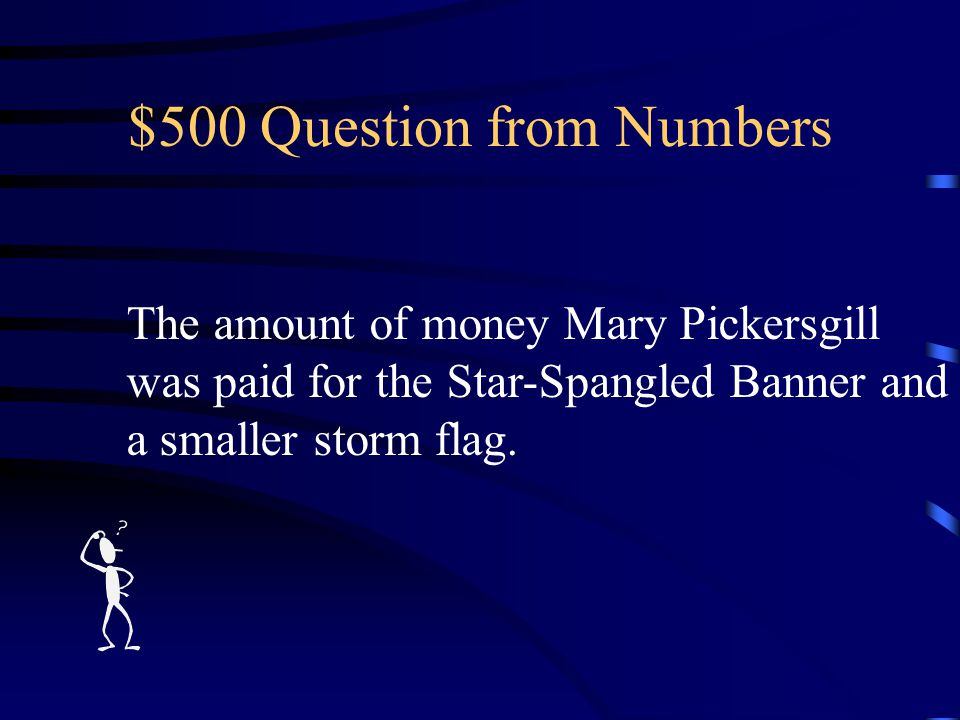 $400 Answer from Numbers What is 1931?