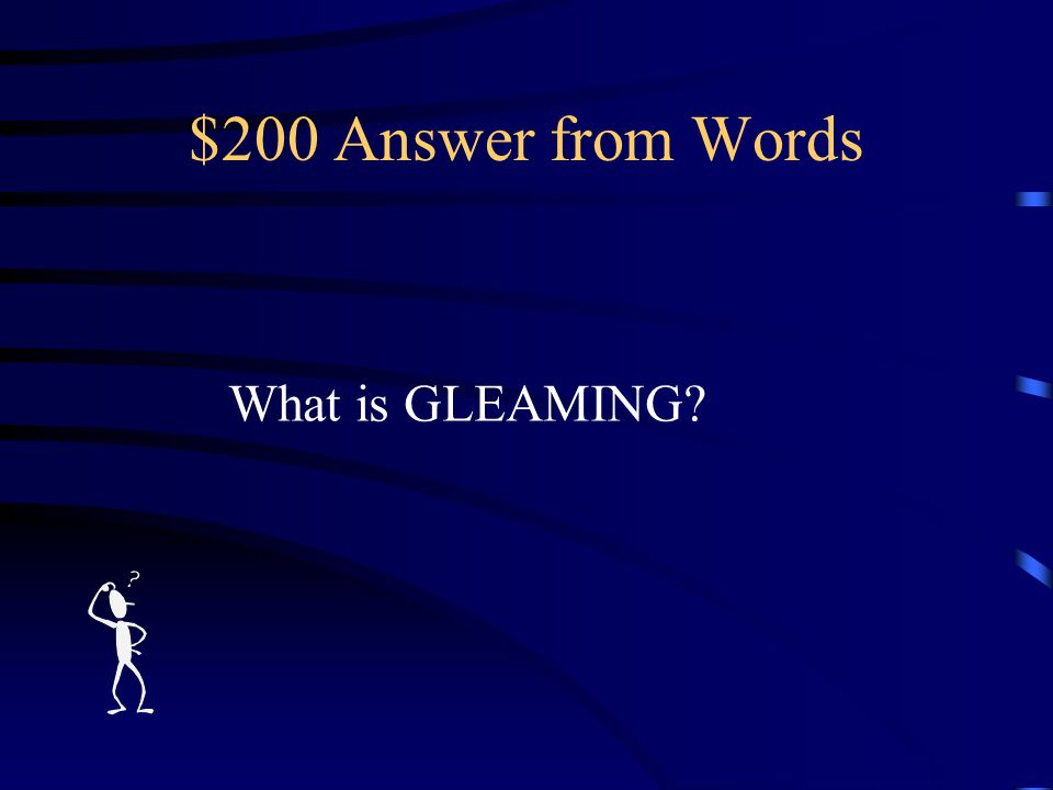 $200 Question from Words at the twilight's last ________