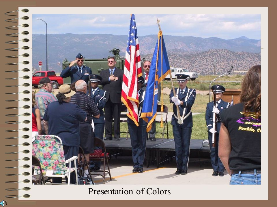 Presentation of Colors