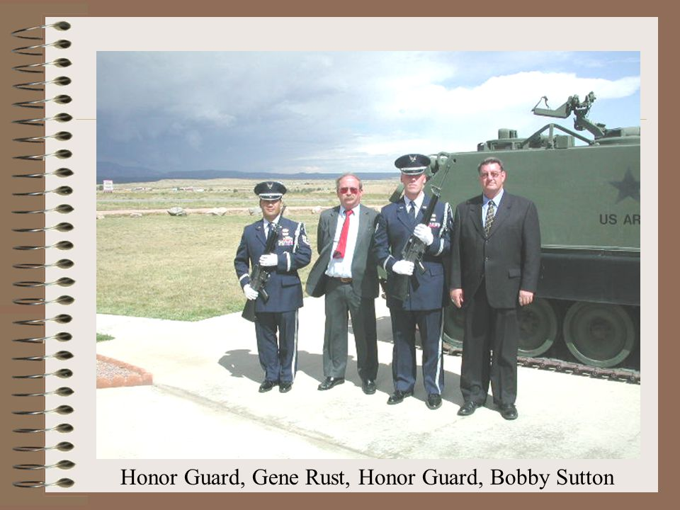 Honor Guard, Gene Rust, Honor Guard, Bobby Sutton