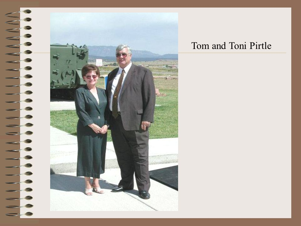 Tom and Toni Pirtle