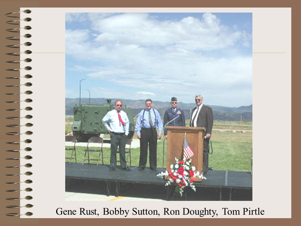 Gene Rust, Bobby Sutton, Ron Doughty, Tom Pirtle