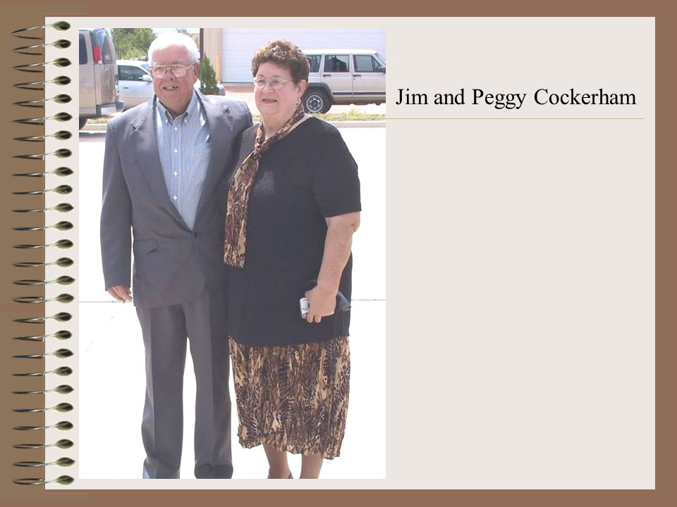 Jim and Peggy Cockerham
