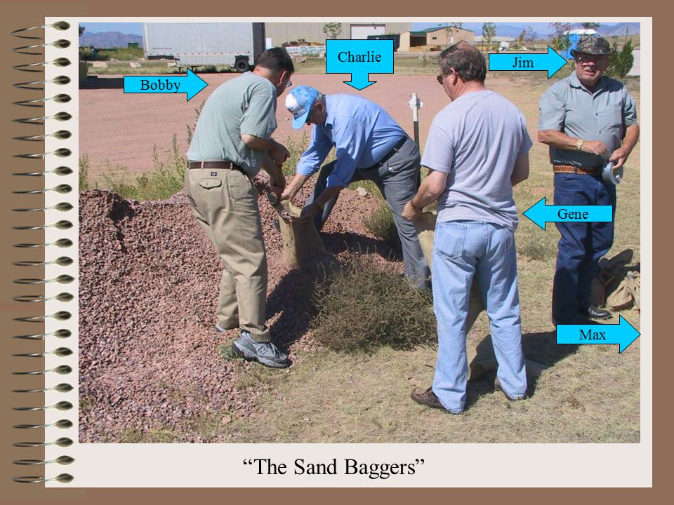 The Sand Baggers Bobby Charlie Gene Jim Max