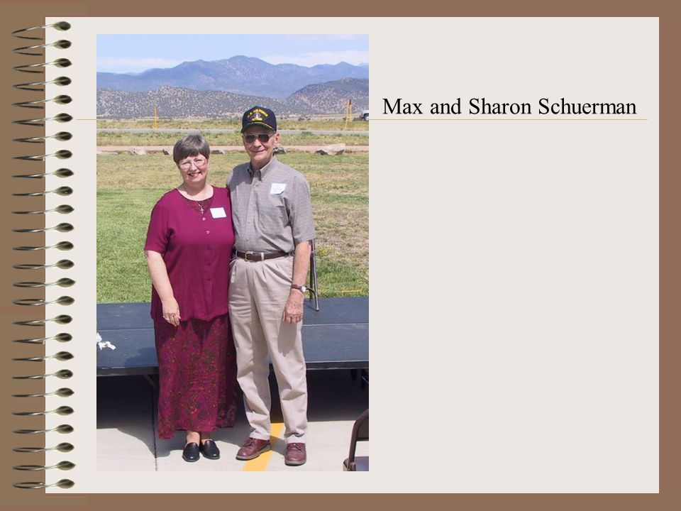 Max and Sharon Schuerman