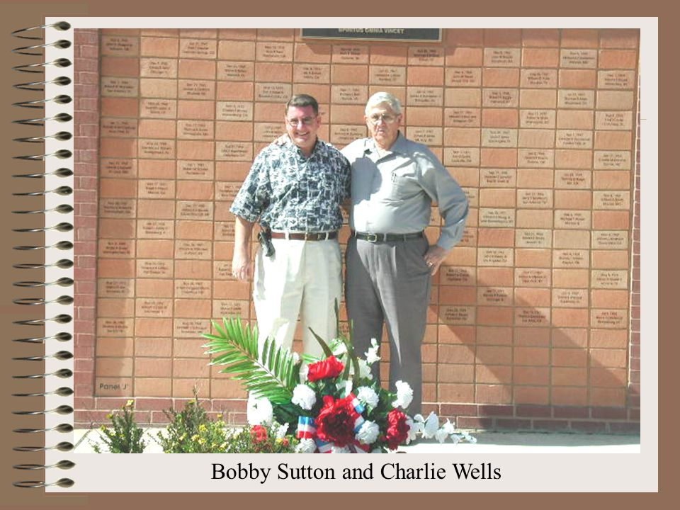 Bobby Sutton and Charlie Wells