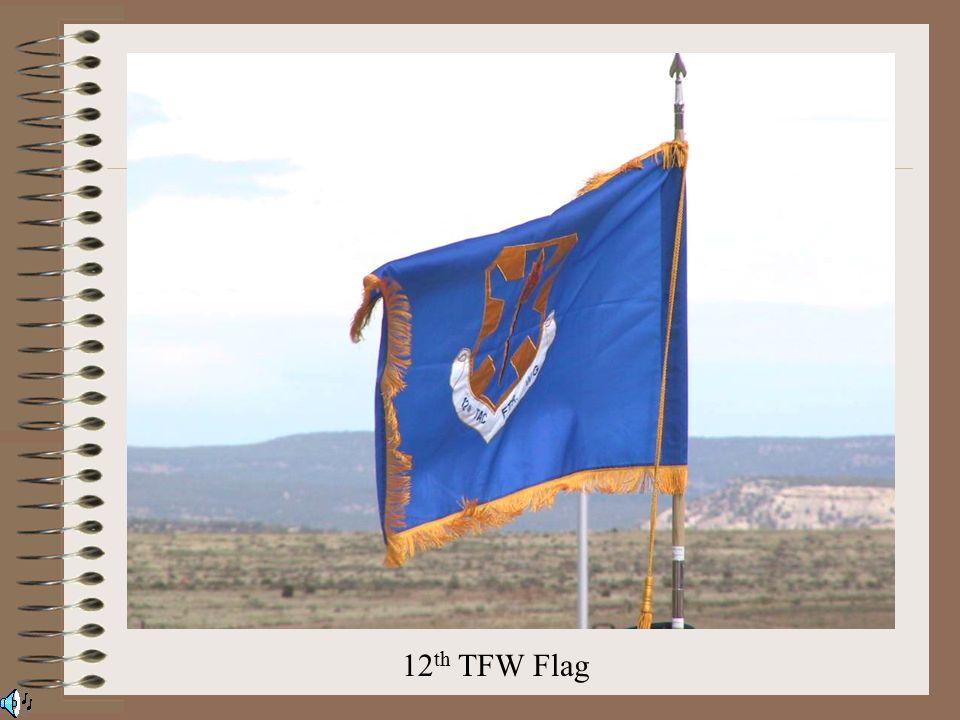 12 th TFW Flag