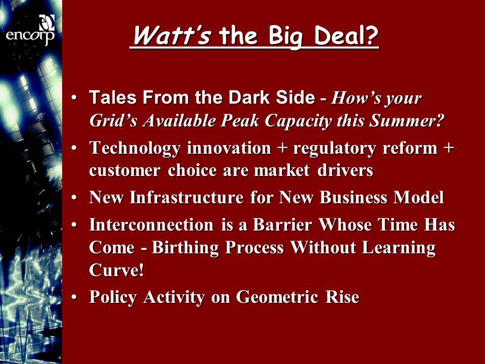 Watt's the Big Deal.