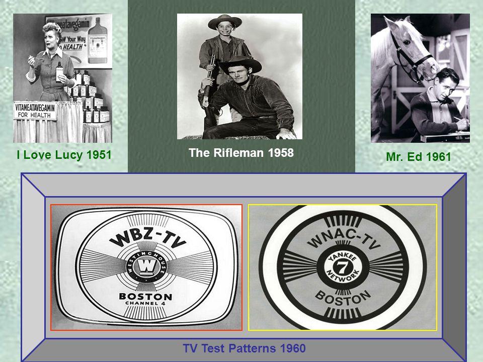 Lassie 1958 Wanted: Dead or Alive 1958 Zorro 1957 The Twilight Zone 1960 Gilligan's Island 1966