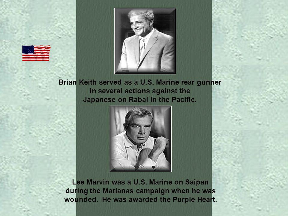 George C. Scott was a decorated U. S. Marine.