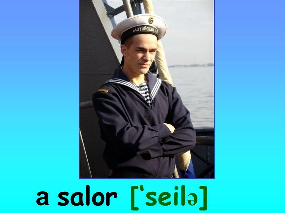 a salor ['seil ə ]