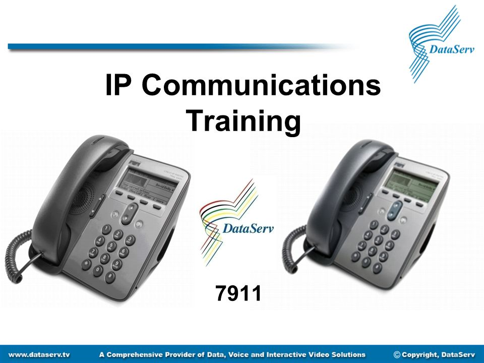 IP Communications Training 7911