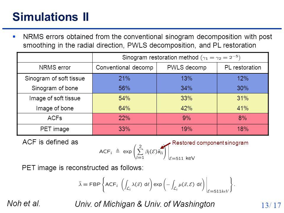 Noh et al. Univ. of Michigan & Univ.