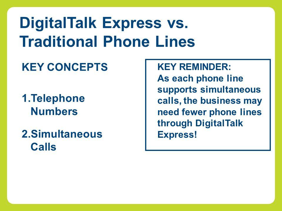 DigitalTalk Express vs.