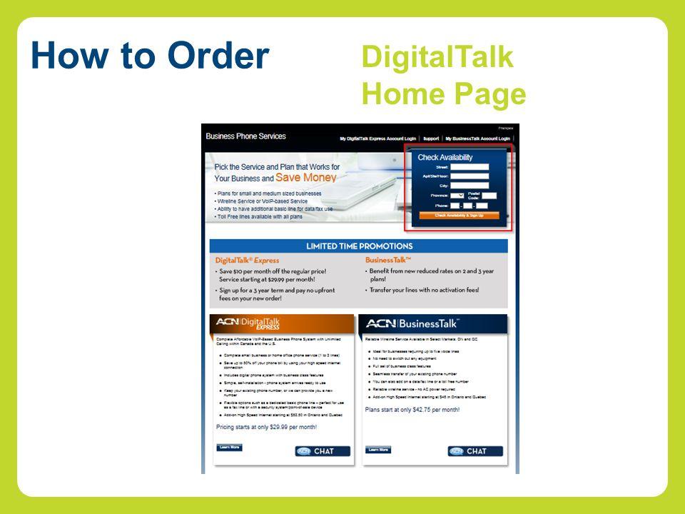 DigitalTalk Home Page