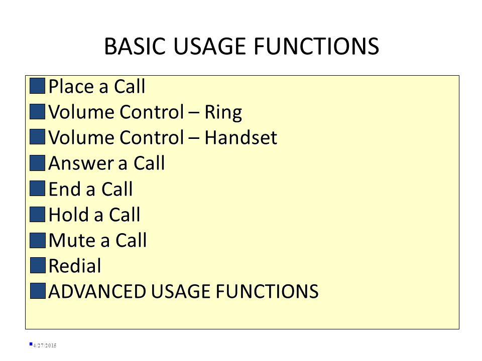 Overview -- Resources  Telecommunications Website:  http://helpdesk.mst.edu/facultystaff/telecom/ http://helpdesk.mst.edu/facultystaff/telecom/  Web-based Voicemail System:  http://voicemail.mst.edu http://voicemail.mst.edu  Programming Phone Features  http://ccmuser.mst.edu http://ccmuser.mst.edu 4/27/2015