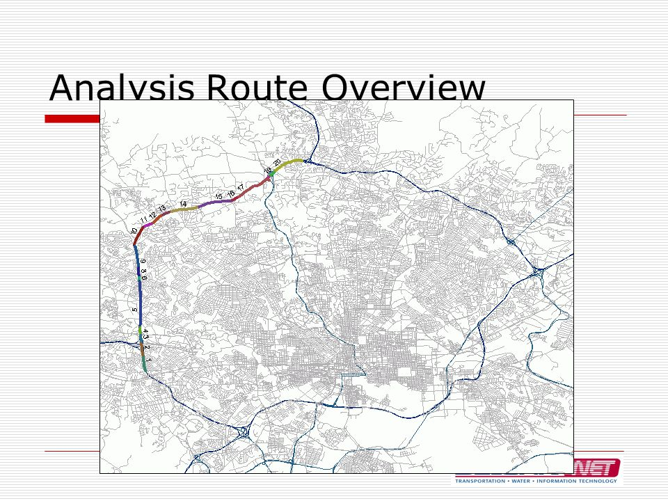 Analysis Route Overview
