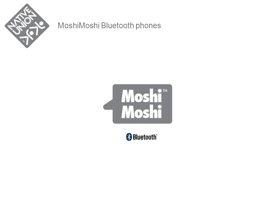 MoshiMoshi Bluetooth phones