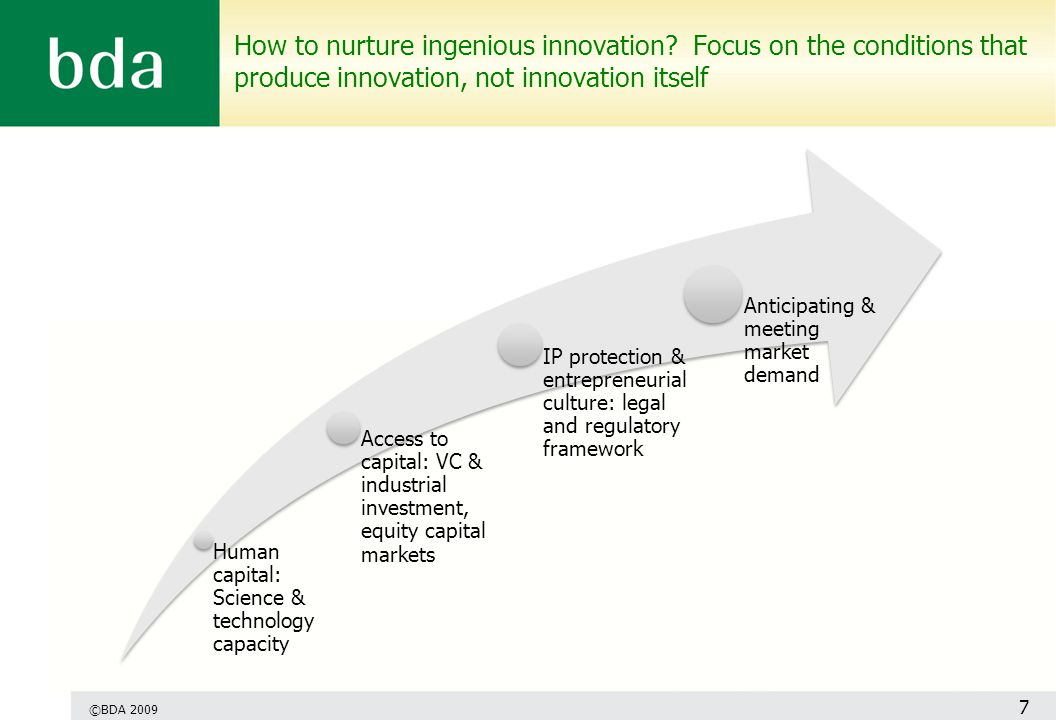 How to nurture ingenious innovation.