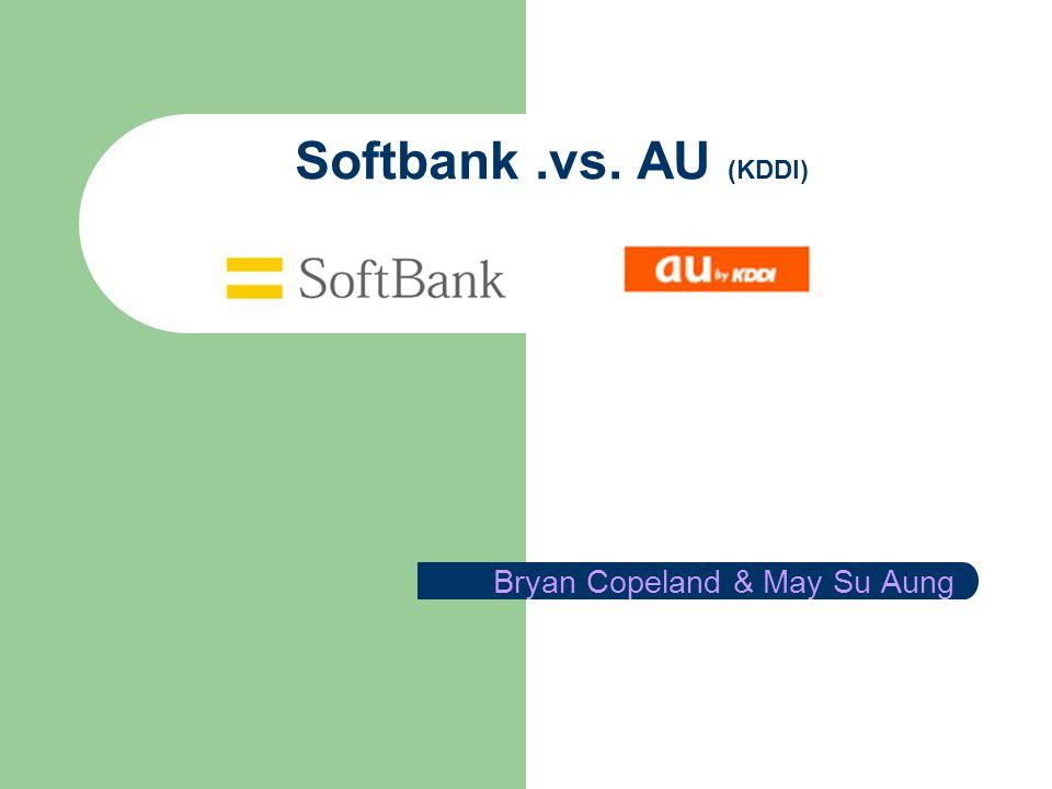 Softbank.vs. AU (KDDI) Bryan Copeland & May Su Aung