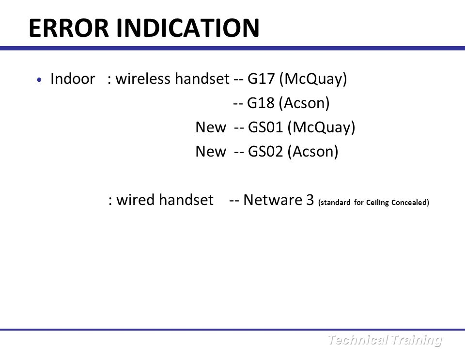 Error message : L3 Method of malfunction detection : Detect the temperature of heat sink when compressor off.