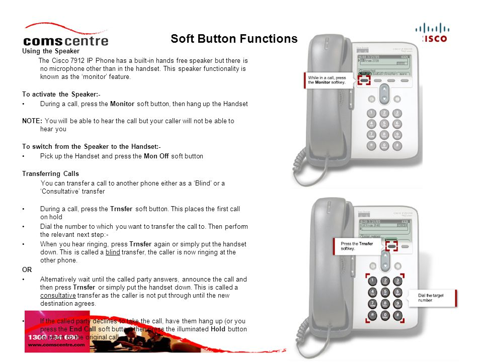 6 Call Pickup Call pickup allows you to answer a call that comes in on a phone other than your own.