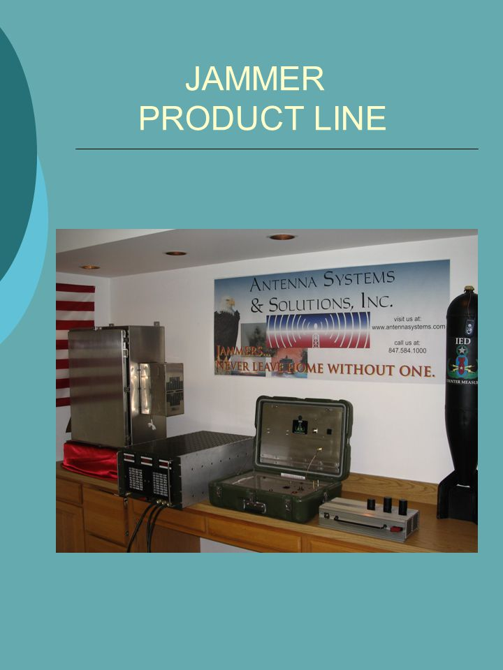 JAMMER PRODUCT LINE