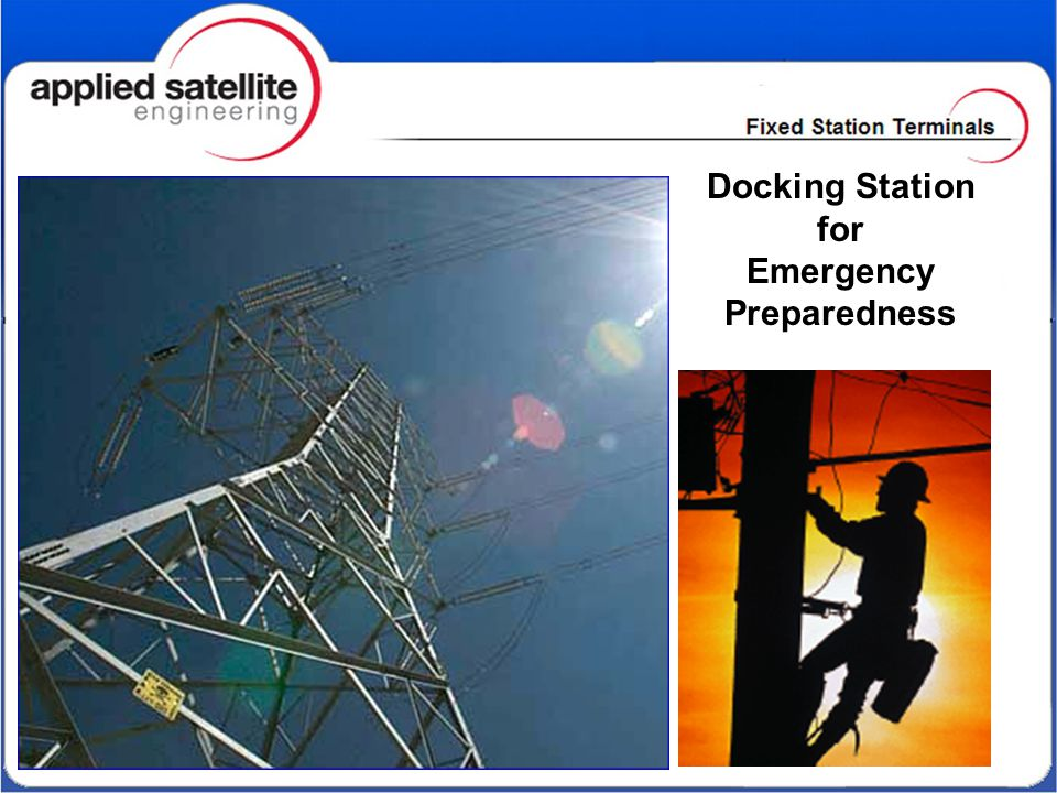 Docking Station for Emergency Preparedness