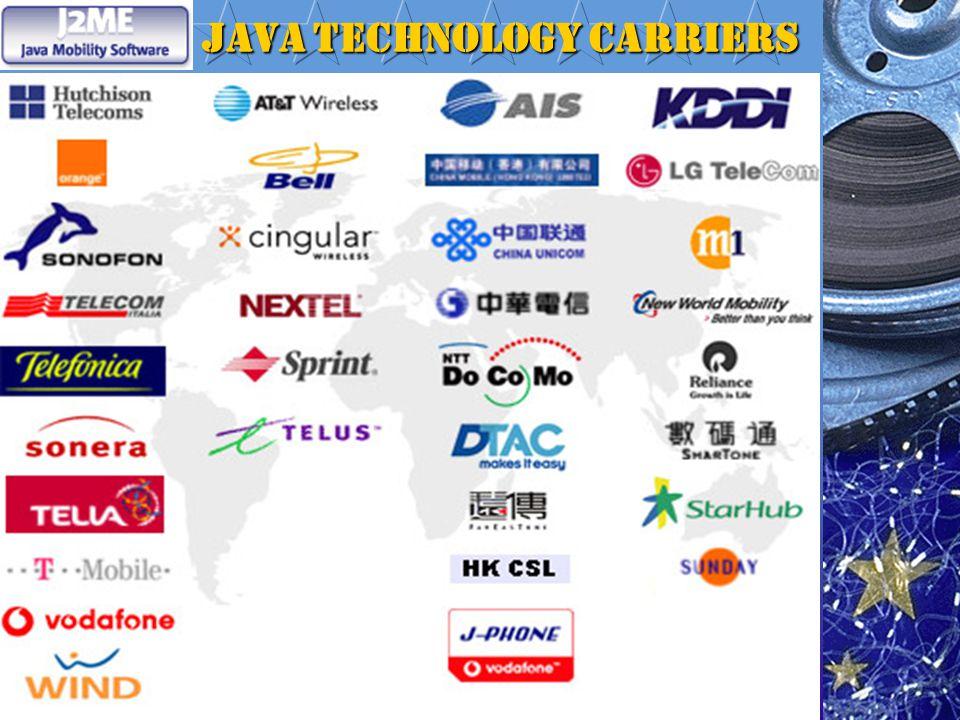 Java Technology Carriers Java Technology Carriers