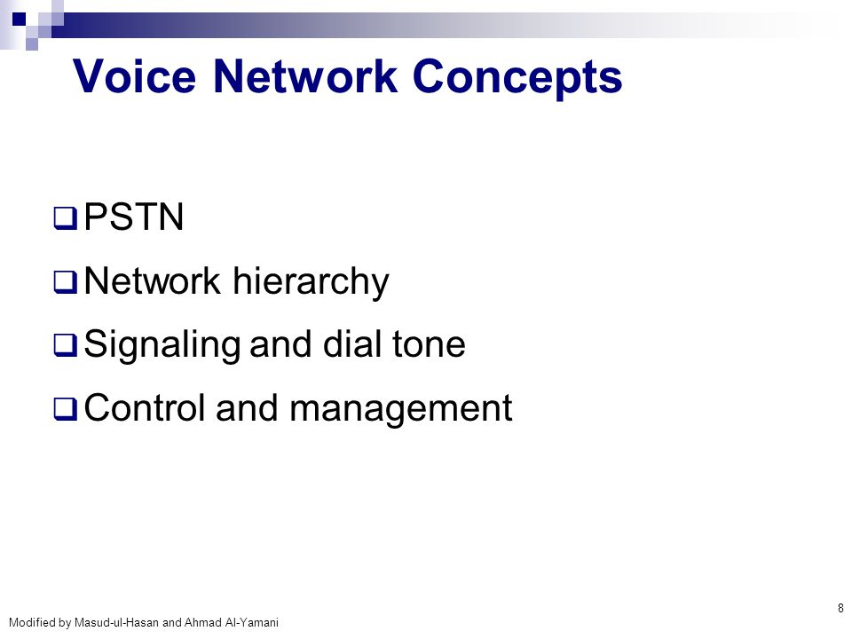 Modified by Masud-ul-Hasan and Ahmad Al-Yamani 39 VOIP Transmission Technology REQUIRED CLIENT TECHNOLOGY