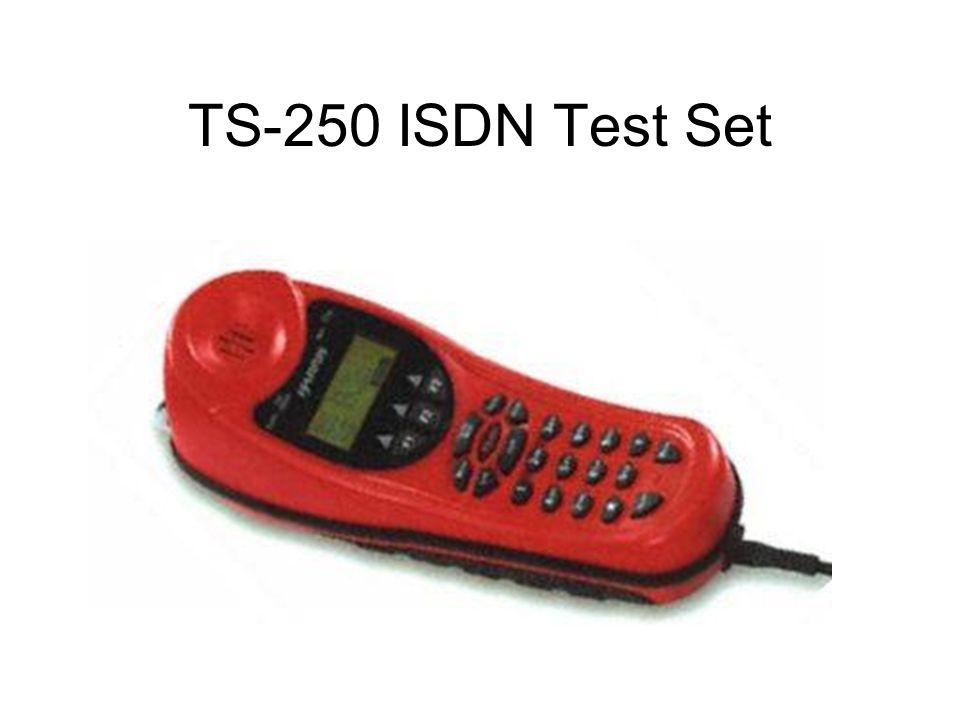 TS-250 ISDN Test Set