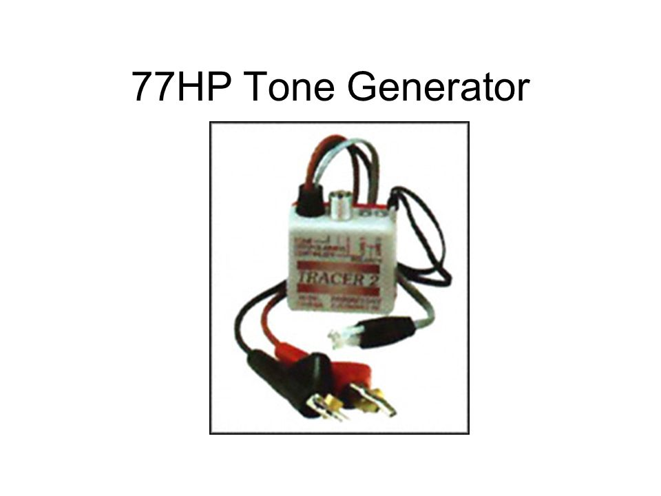 77HP Tone Generator