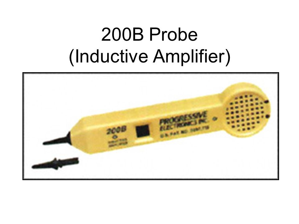 200B Probe (Inductive Amplifier)