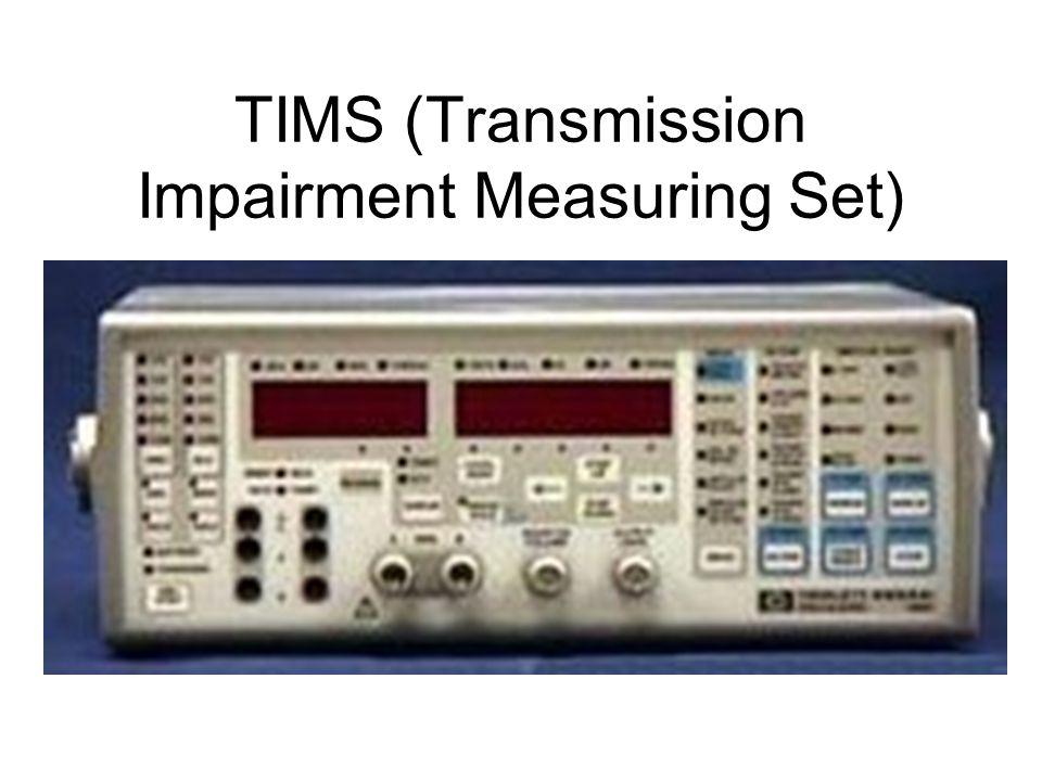 TIMS (Transmission Impairment Measuring Set)
