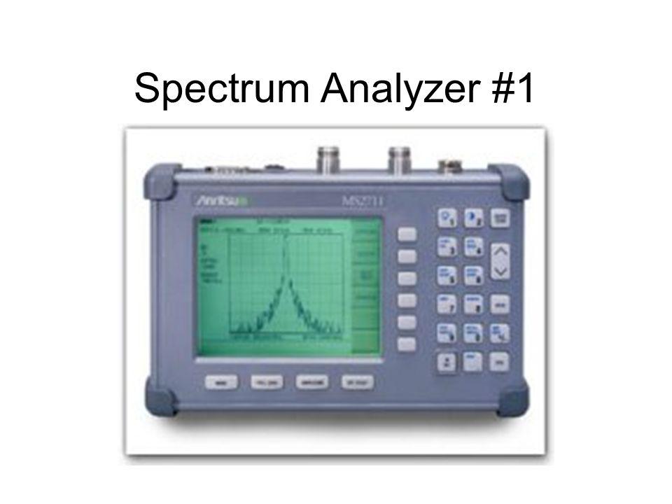 Spectrum Analyzer #1