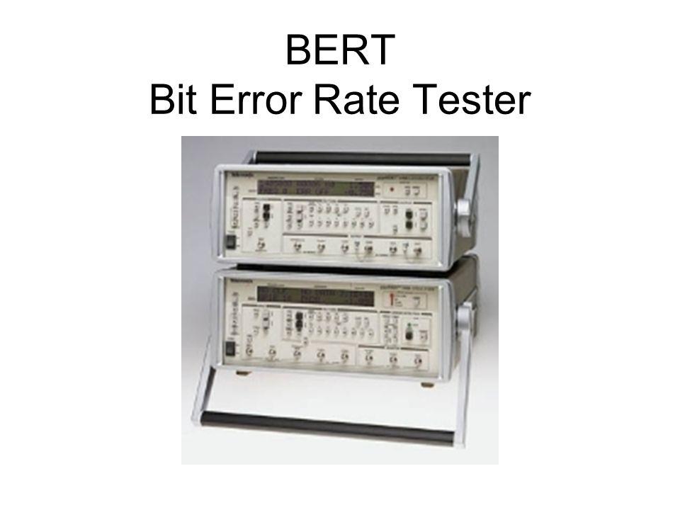BERT Bit Error Rate Tester