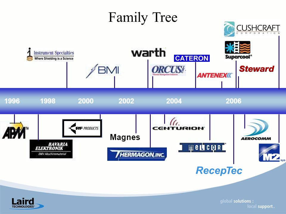 199619982000200420022006 Magnes Family Tree