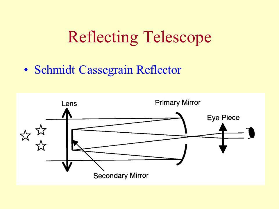 Reflecting Telescope Schmidt Cassegrain Reflector