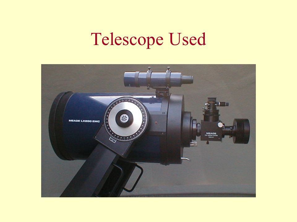 Telescope Used