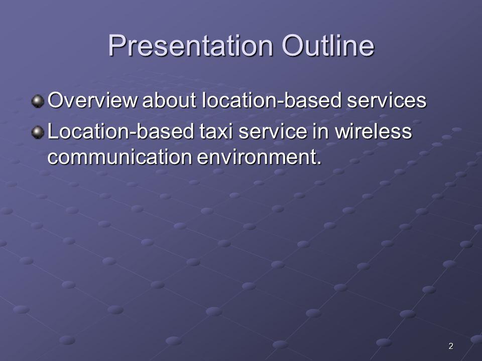 13 Location Technologies network-based UL-TOA (Uplink Time of Arrival)  Mobile  Base Station 1  =distance 1  Base Station 2  Base Station 3  =distance 2  =distance 3