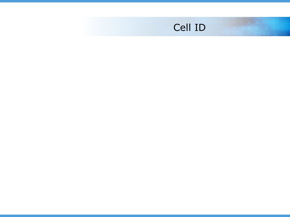 Cell ID
