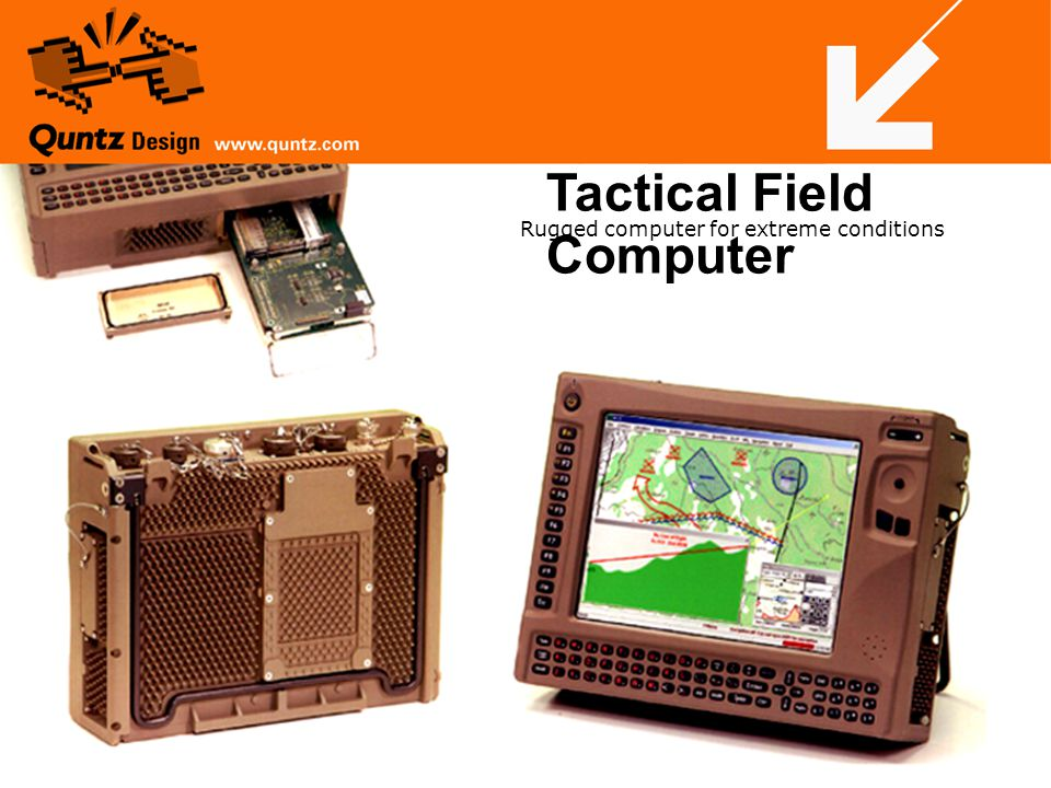 Tactical Field Computer Rugged computer for extreme conditions