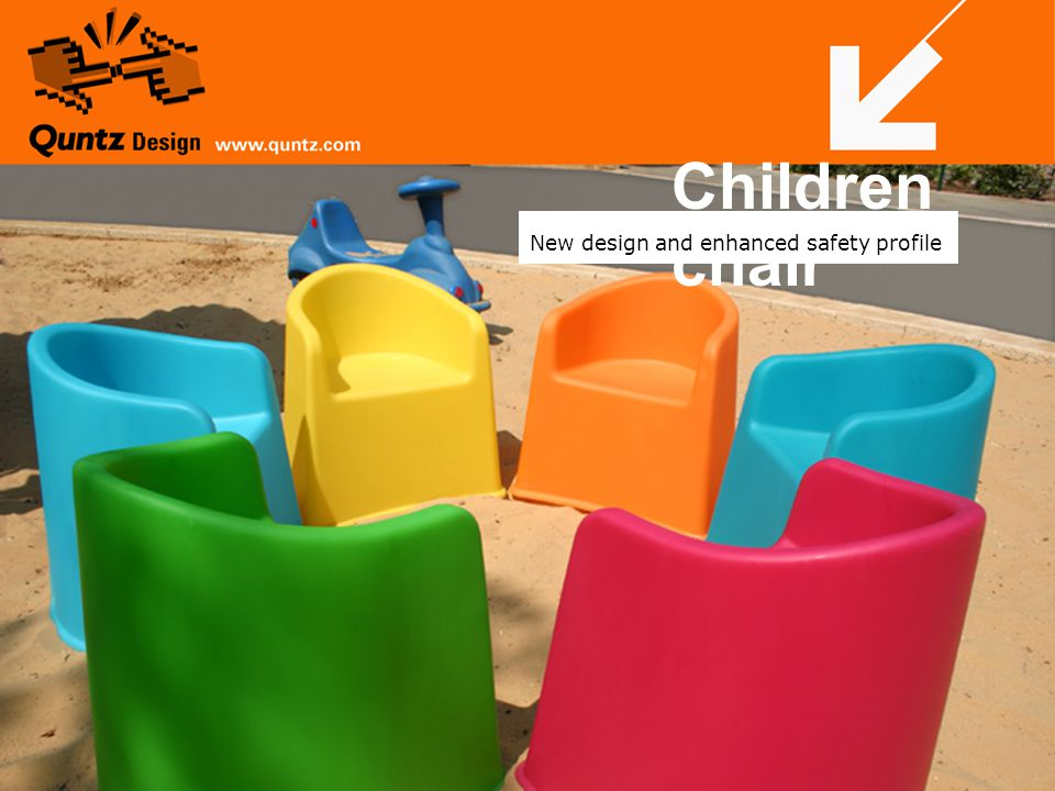 Children chair New design and enhanced safety profile