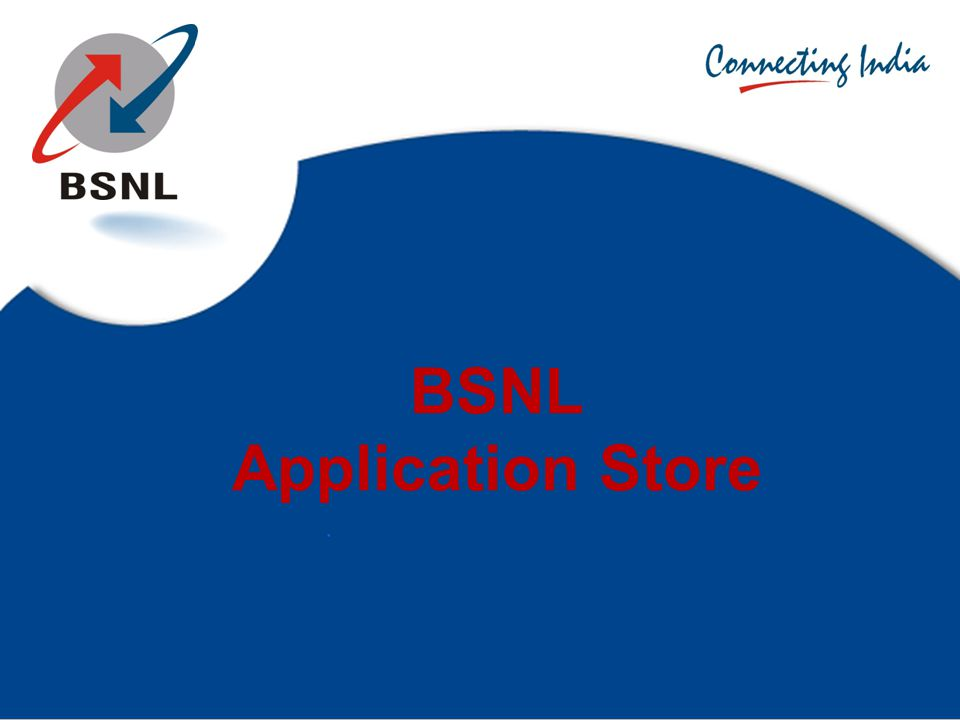 BSNL Application Store