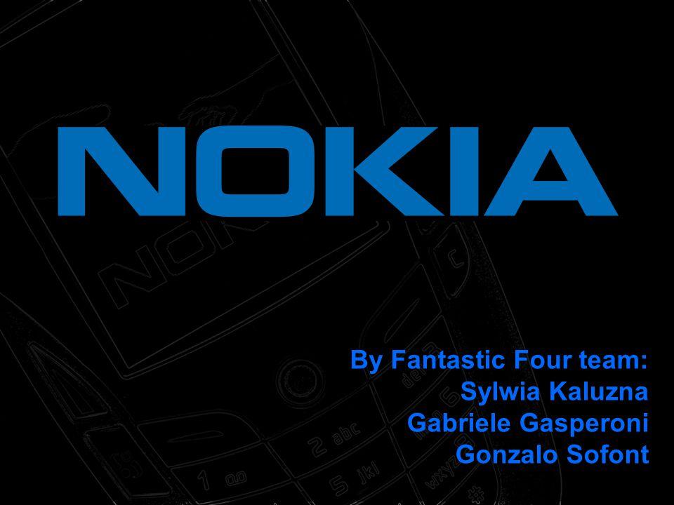 By Fantastic Four team: Sylwia Kaluzna Gabriele Gasperoni Gonzalo Sofont