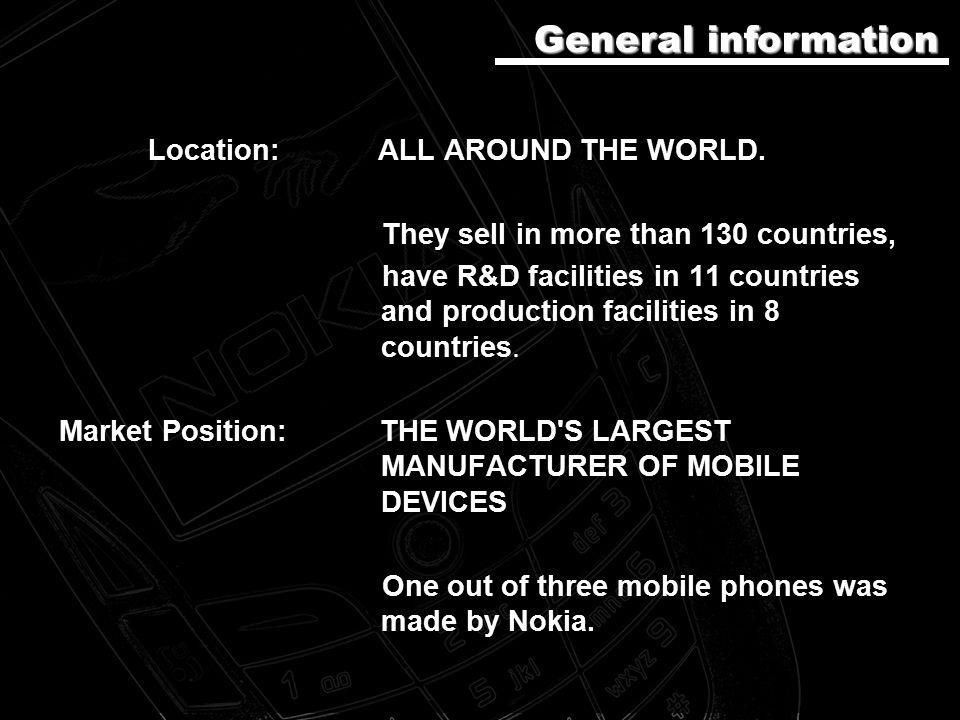 Location: ALL AROUND THE WORLD.