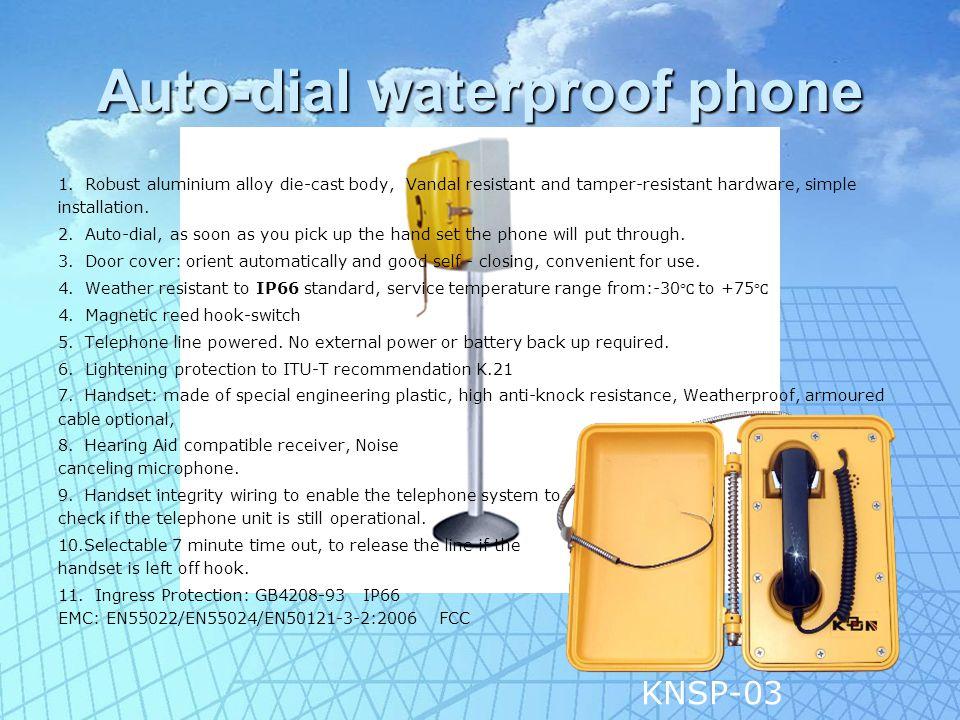 Loud Speaking Telephone 1.