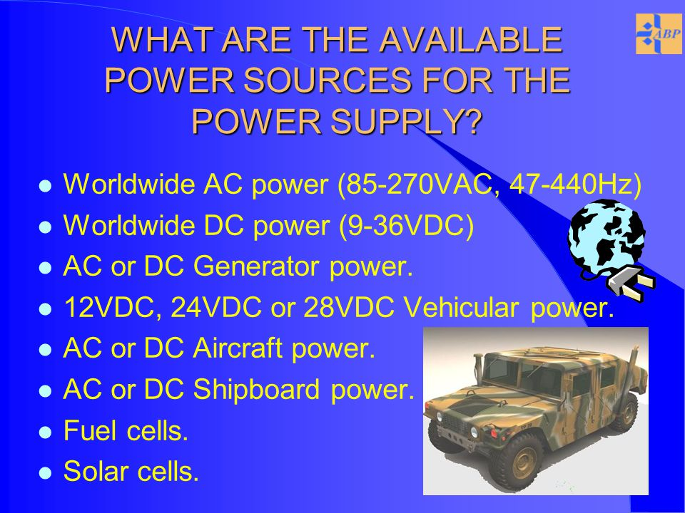SINCGARS ASIP POWERED BY ABP AC/DC TRANSCEIVER BATTERY ELIMINATOR PHOTO IS TO SCALE